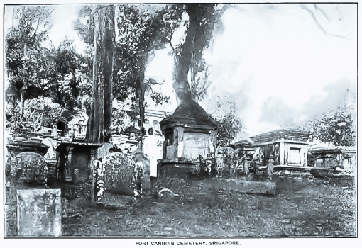 A photograph from the JSBRAS paper. The memorial to the men of HMS Niger mentioned in the paper, is in the centre of the picture.