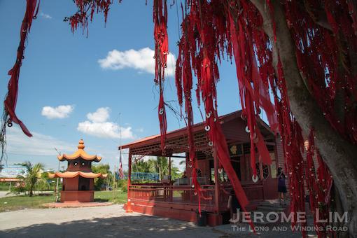 The Datuk Kong temple.