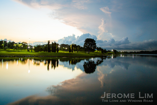 (43) The calm before the storm - Lower Seletar Reservoir.