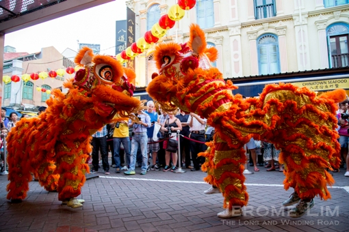There will be a lion dance competition to look forward to.