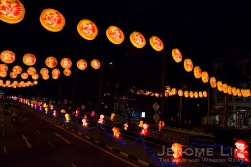 Monkey lanterns - some 406 of them will add to the monkey madness.