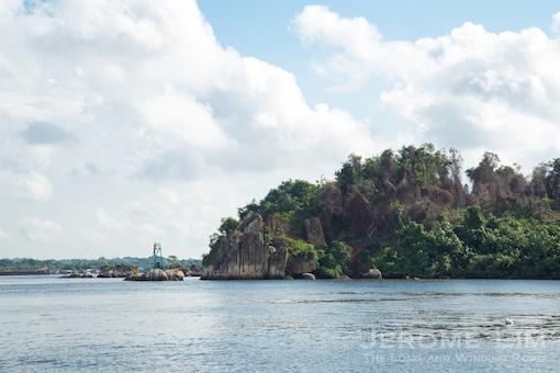(40) Tanjong Tajam on Pulau Ubin.
