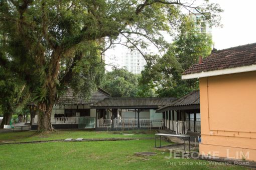 Buildings of the former Mandalay Hospital.