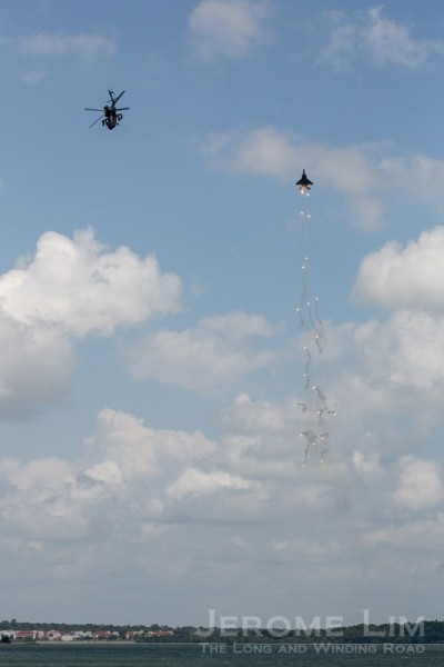 The RSAF AH-64D Apache and F-15SG Integrated Display.