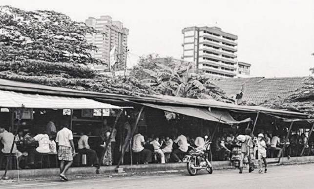 Sarabat Stalls along Waterloo Street