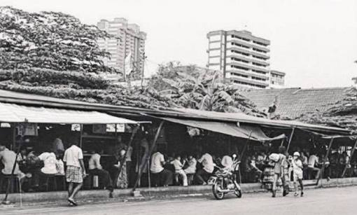 Sarabat Stalls along Waterloo Street