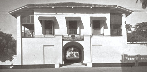 The former apothecary in the days when the grounds were used by the Malay Company of the Singapore Volunteer Corps.