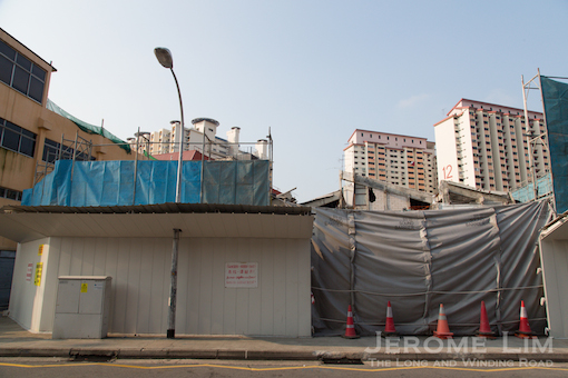 The site of the former Eng Wah open-air cinema and the Holland V Shopping Mall.