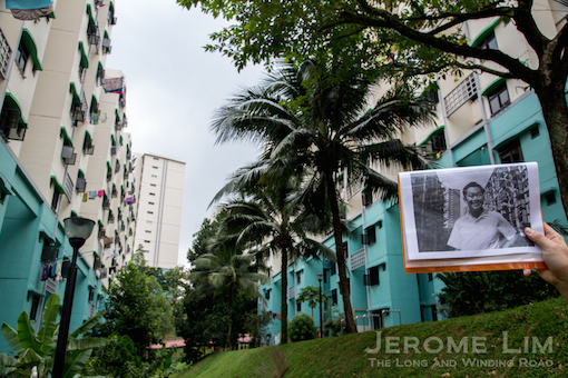 Also at Commonwealth Close, the space between Blocks 85 and 86 where the iconic photograph of Singapore's first Prime Minister, Mr Lee Kuan Yew was taken.