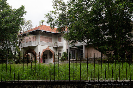 The good-class bungalow at 35 Ridout Road that was sold very recently for S$91.69 million.