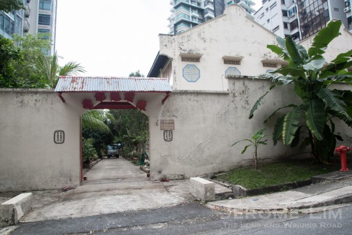The house at No. 3 Bassein Road.