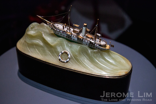 Model of the Varuna Yacht, c. 1907.