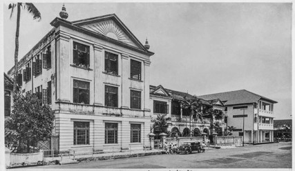The Japanese Elementary School in its early days.