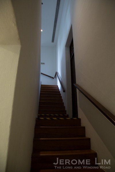 The servant's staircase.