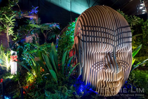 Modern Day Maui - a Fantasy Show Garden by Adam Shuter of New Zealand.