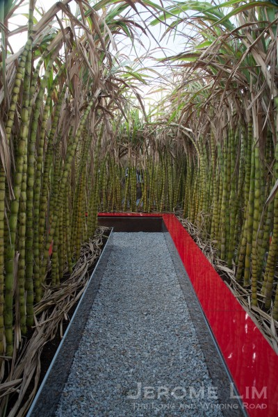 The Sugarcane Maze - a Landscape Garden by Kong Jian Yu of China.