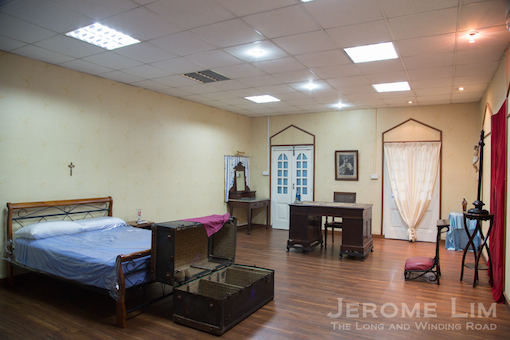 The Bishop of Macau's room.