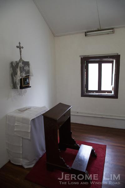 The Bishop's chapel.