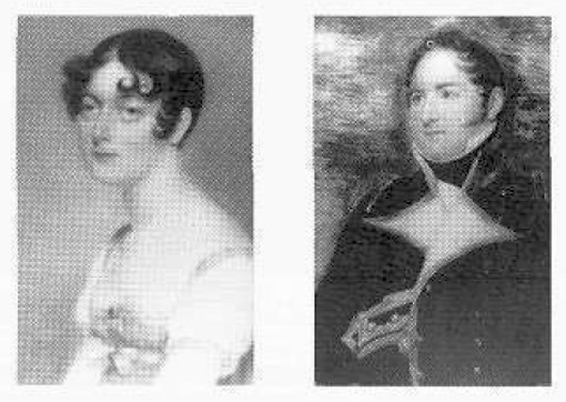 The Flints, Mary Ann, Raffles' sister and Captain William, the Master Attendant.