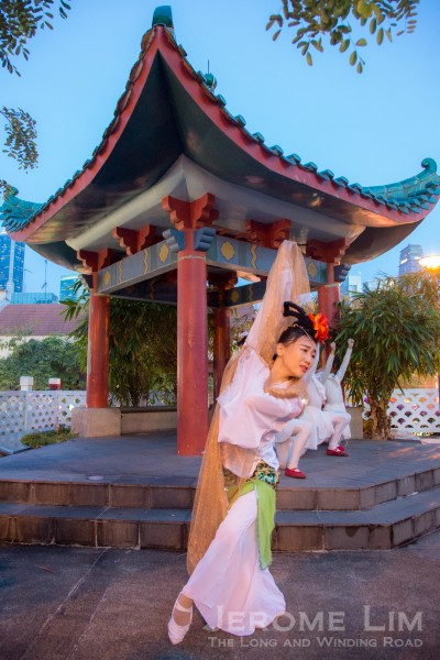 The Moon Goddess, Chang'e, will descend on Chinatown this Mid-Autumn Festival.