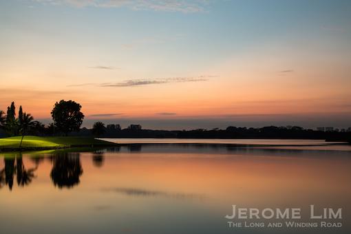 Lower Seletar Reservoir, 6.34 am, 18 December 2013.