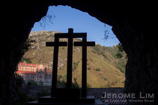 The reconquest - in which this cave in Covadonga in the Asturias, featured.