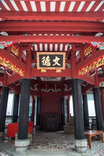 The Chung Wen Pagoda.