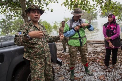 Kapten Zuraiman of Muzium Tentera Darat.