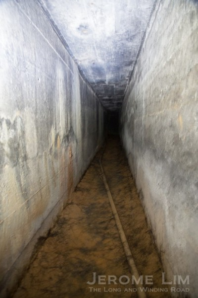 A tunnel.
