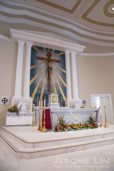 The sanctuary after the reopening.