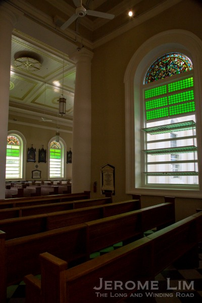 Where the choir organ was located.