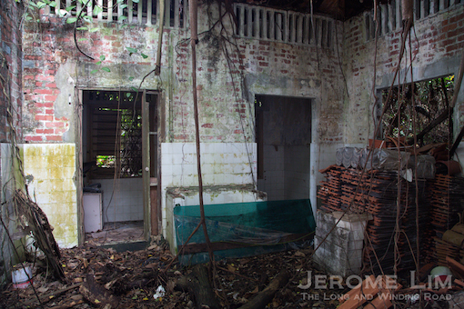 More of the kitchen complex.