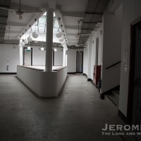 The hospital at Mount Erskine and what may now be Singapore's oldest lift