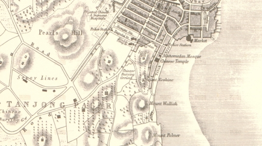 Plan of Singapore, 1846 (National Archives of Singapore)