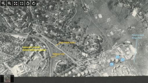 Area around Normanton Oil Depot (1953)