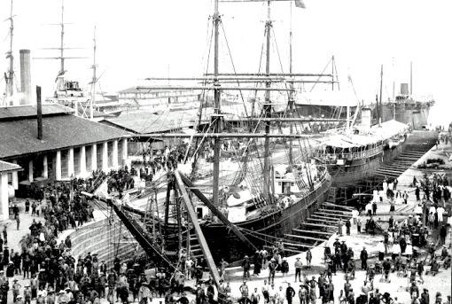 Victoria Dock 1890s